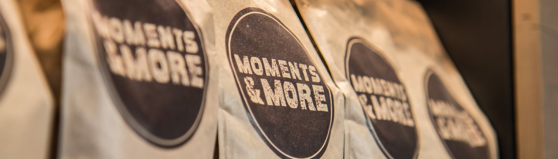 Moments & More eigen koffie