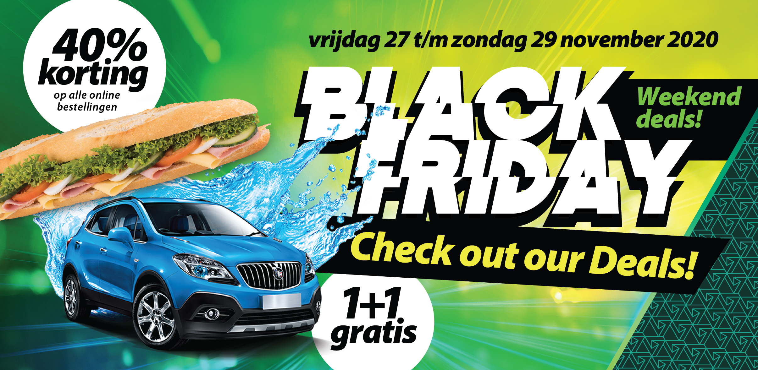 <p>Black friday - Weekend deals</p>
